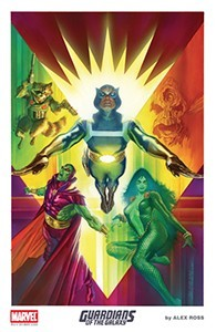 Alex Ross 2015 Guardians of the Galaxy Lithograph