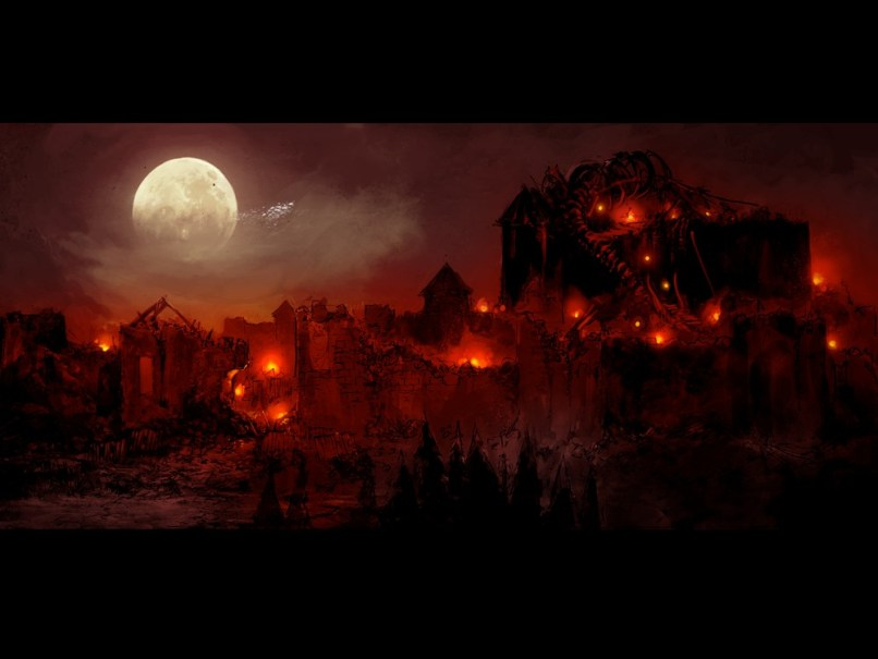 Baldur's Gate Siege of Dragonspear Concept art 1