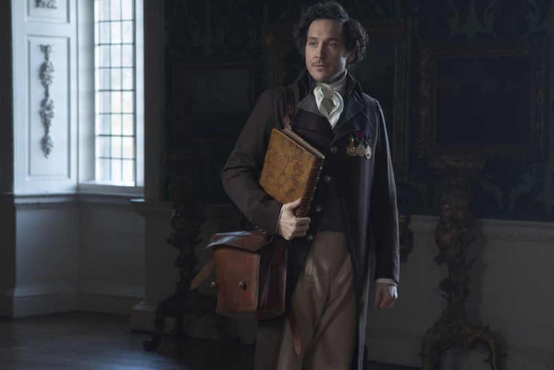 "Jonathan Strange studying a problem in ""All the Mirrors in the World"""