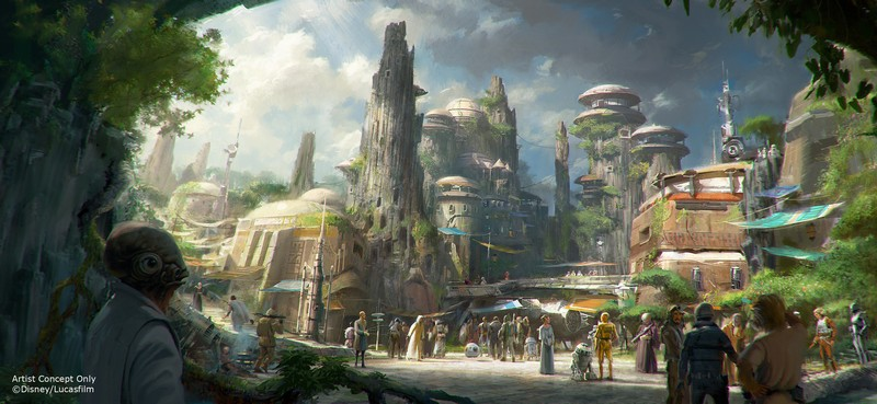 Star Wars Themed Land Image 1