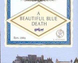 Cover for A Beautiful Blue Death by charles finch