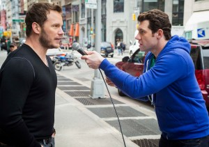 Chris Pratt & Billy Eichner - Photo Credit Nathaniel Chadwick for truTV