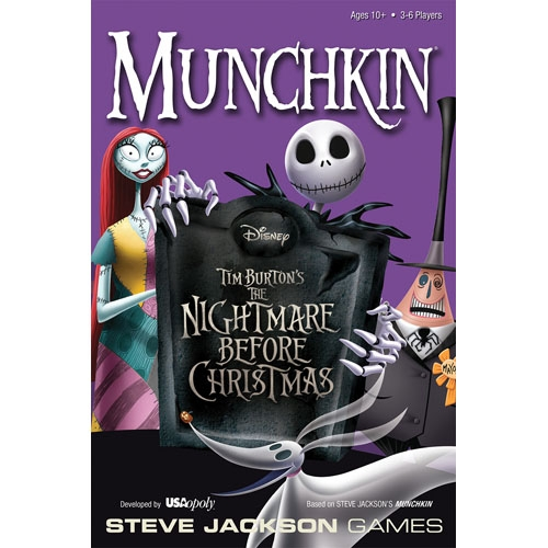 Free Comic Book Day Nightmare Before Christmas: Nightmare Before Christmas Munchkin: THE BEST HALLOWEEN