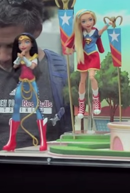 Wonder Woman and Supergirl dolls from DC Super Hero Girls Sizzle Reel