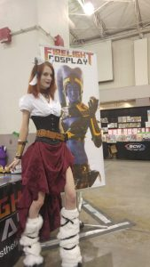 Amber of Firelight Cosplay