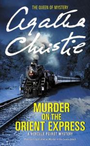 Murder on the Orient Express Novel Cover