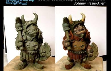 Labyrinth Board Game Goblin Brute Figure