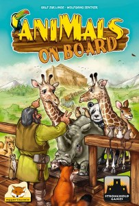 Animals On Board - Stronghold Games box