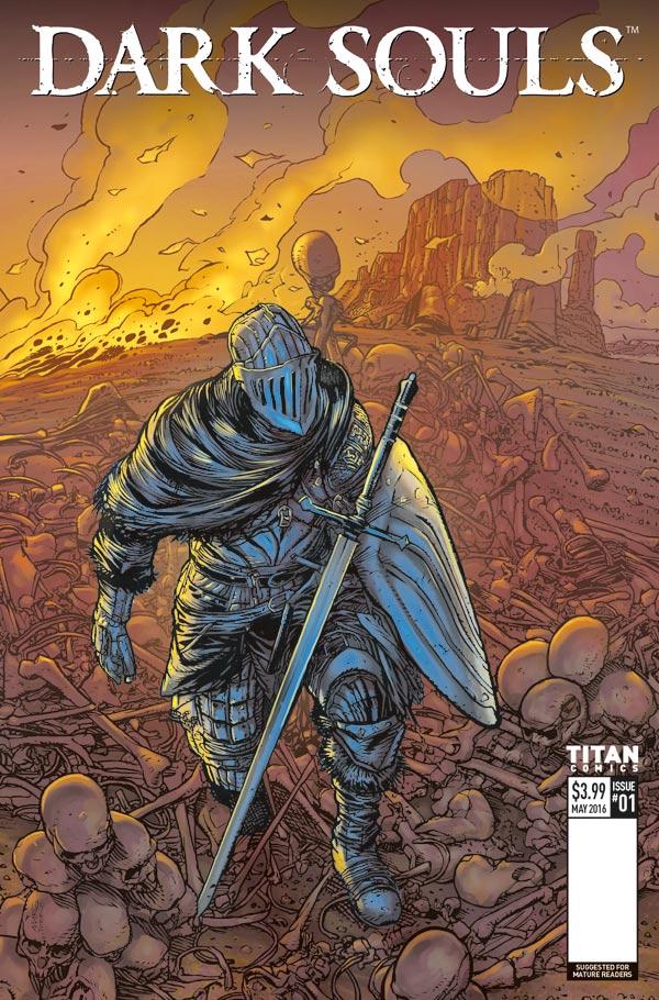 Dark Souls #1 Cover D