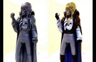 Jareth Sculpt painted and unpainted