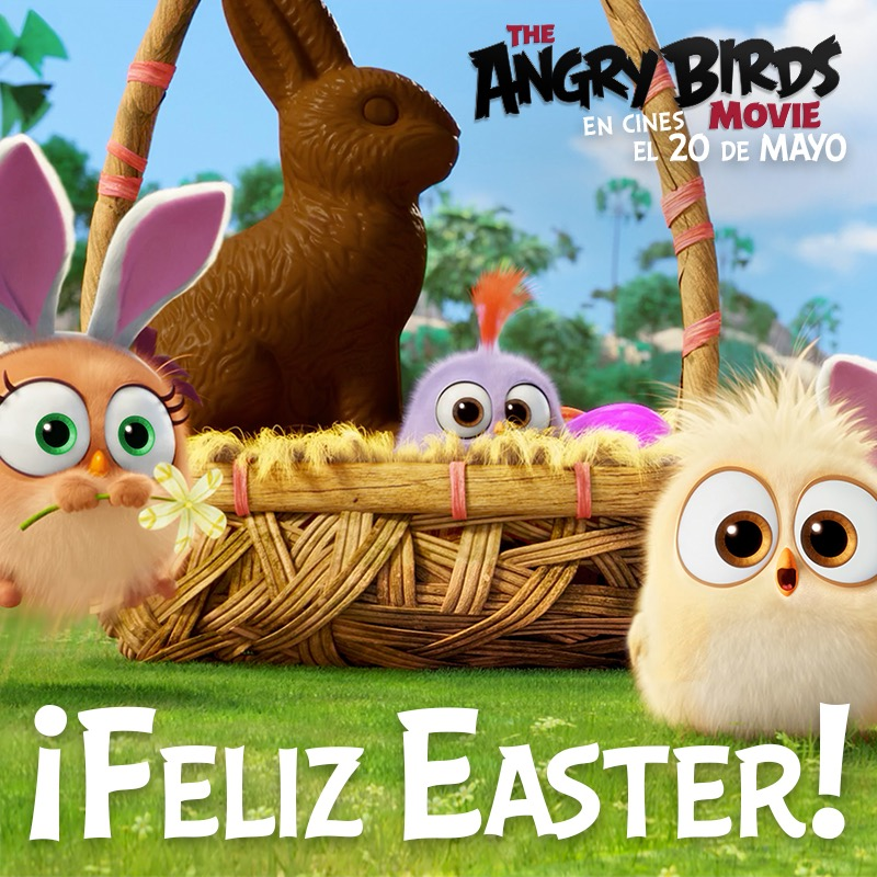 Angry Birds Feliz Easter