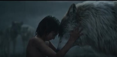 Mowgli says a sad goodbye