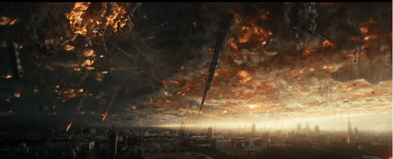 Independence Day: Resurgence Everything Falls down