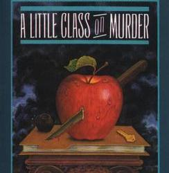 Cover for A Little Class on Murder by Carolyn G Hart