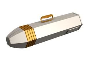 Star Trek Shuttlecraft carry case