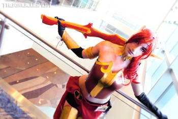 StevieSpade Cosplay as Pyrrha