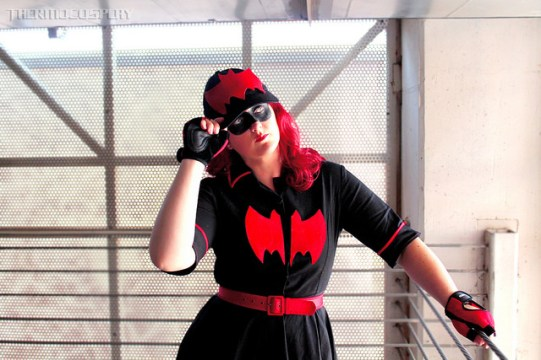 ThermoCosplay as Bombshell Batwoman