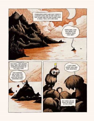 Bera the one-headed troll page 1