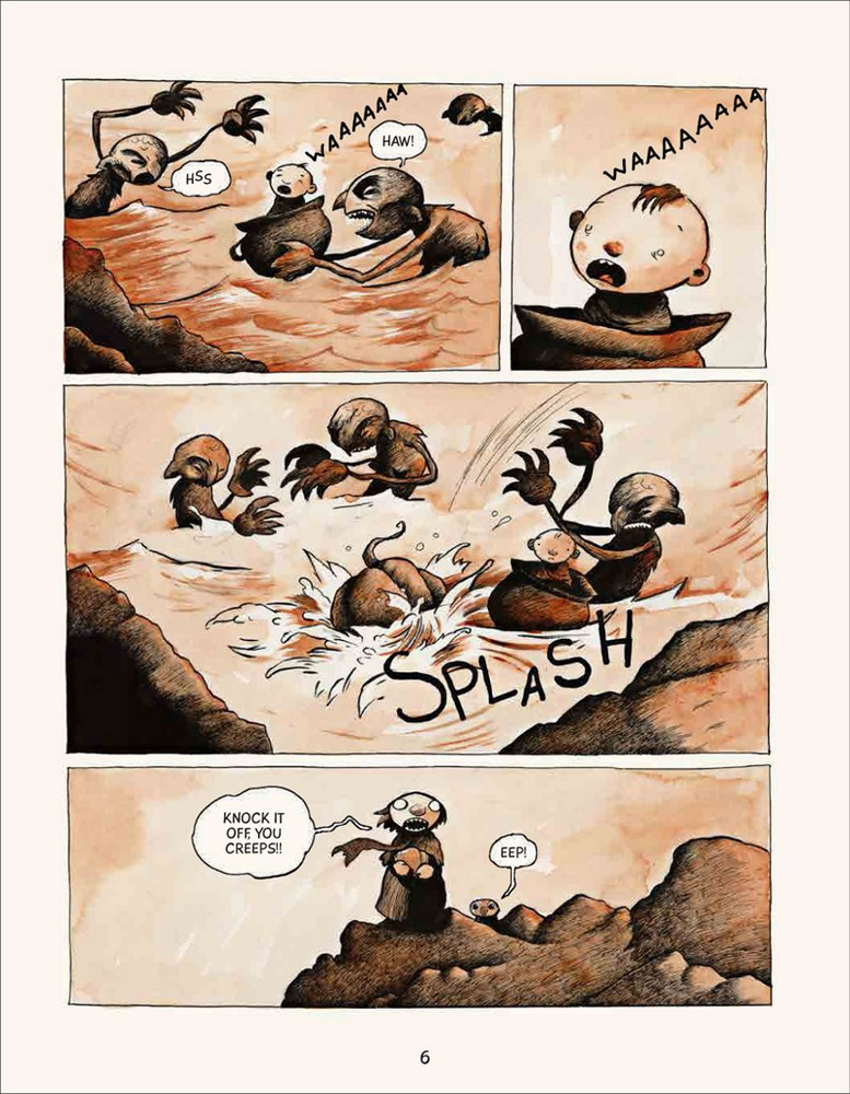Bera the one headed troll page 6