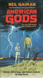 The new cover for American Gods