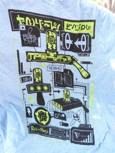 Loot Crate July 2016 Rick and Morty Shirt