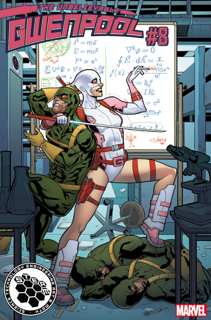 Gwenpool STEAM Variant Cover
