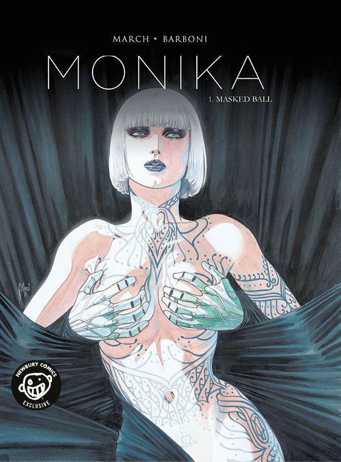 MONIKA Newbury Comics Variant