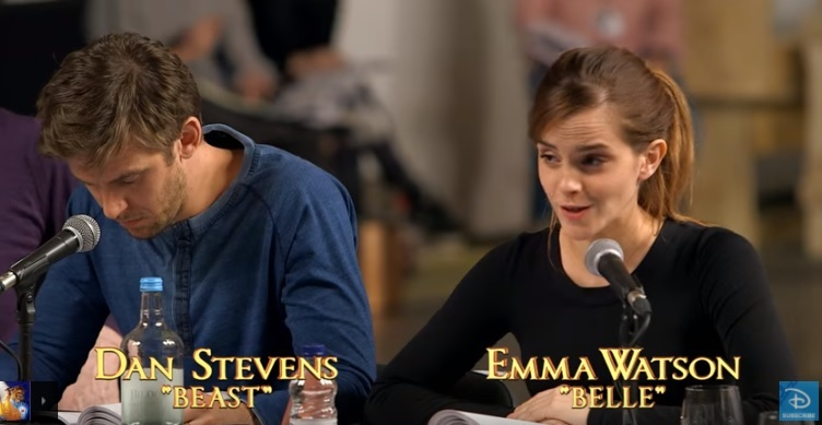 Emma Watson and Dan Stevens Read for the Live-Action Beauty and the Beast
