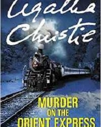 Murder on the Orient Express by Agatha Christie (cover)