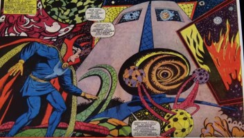 Doctor Strange on the page