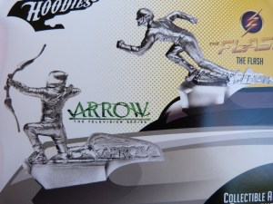 Loot Crate 2016 Arrow & Flash Hood ornaments