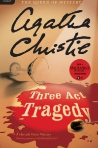 Three Act Tragedy by Agatha Christie Cover