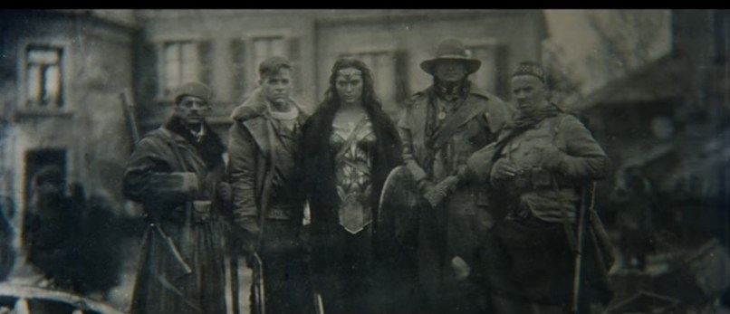Wonder Woman Black and White World War I picture