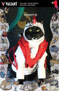 Divinity III #1 Valiant Cat Cosplay Cover