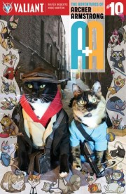 Valiant's Cat Cosplayers Signing in Seattle's Comics Dungeon (Also COVERS!)
