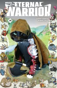 Wrath of the Eternal Warrior Valiant Cat Cosplay Cover