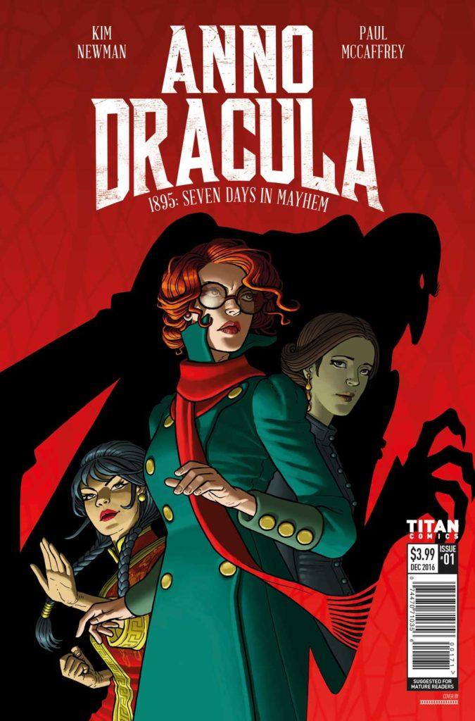 Ano Dracula #1 Paul McCaffrey Cover