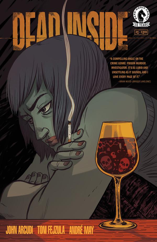 Dead Inside Faith Erin Hicks Cover