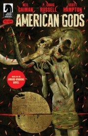 "Dark Horse Publishing ""American Gods"" in the US and the UK in March 2017"