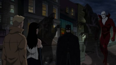 Justice League Dark--Batman faces the Shades