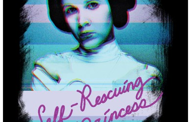 Princess Leia self-rescuing Princess Shirt