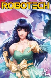 Titan Comics Unveils First Robotech Cover