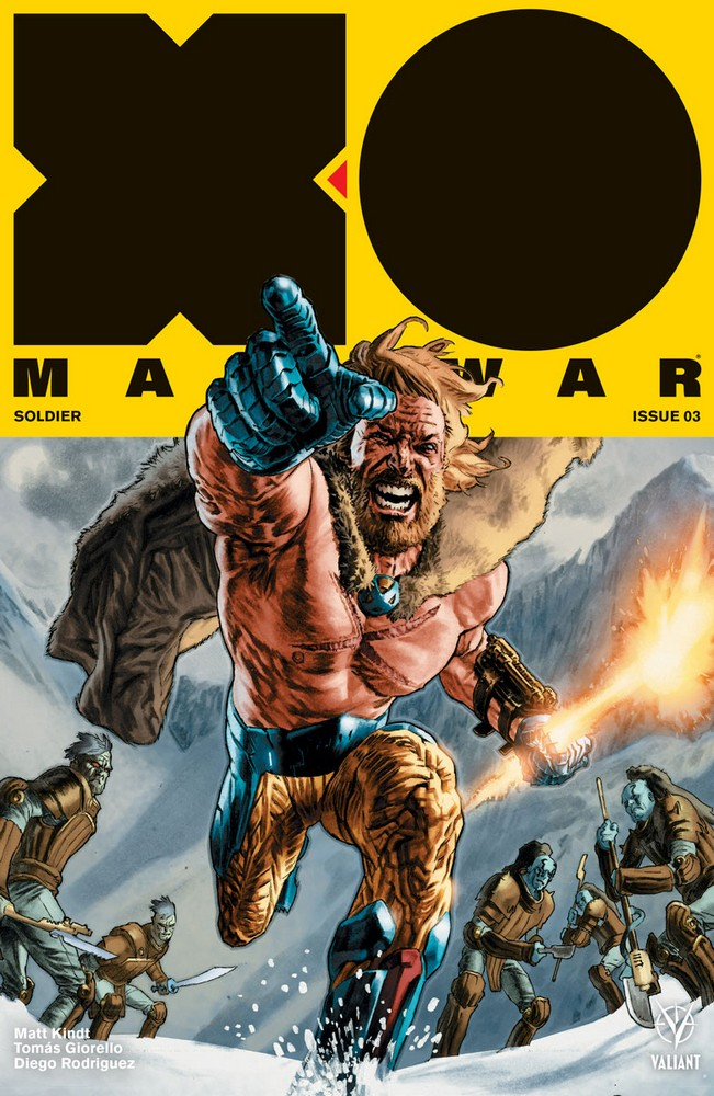 X-O MANOWAR (2017) #3 – Cover A by Lewis LaRosa
