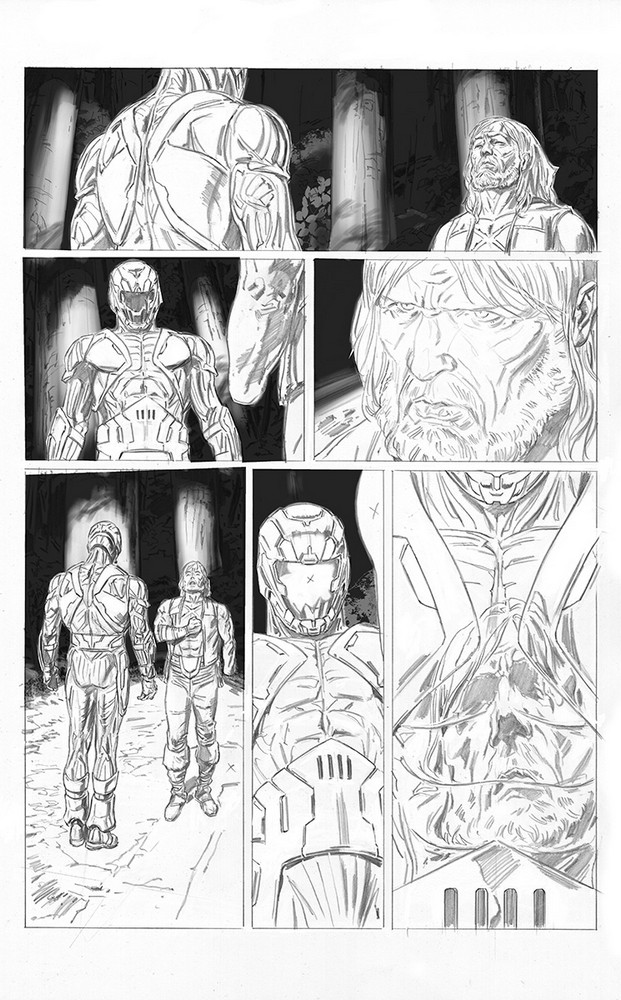 X-O MANOWAR (2017) #4 – Interior Art by Doug Braithwaite