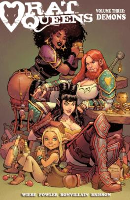 Rat Queens Volume 3