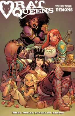 Rat Queens Volume 3