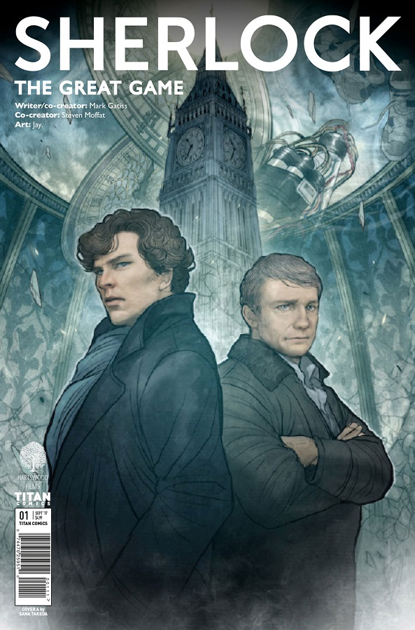 Sherlock: The Great Game Cover by Sana Takeda
