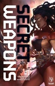 Secret Weapons #1 Cover B: Jelena Kevic-Djurdjevi