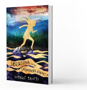 Cover art for Serafina and the Splintered Heart by Robert Beatty