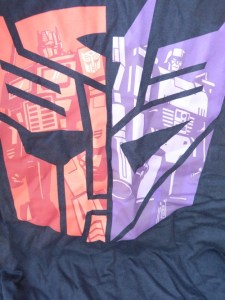 Transformers T-Shirt with art by Marc D'alfonso